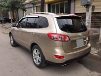 Cần bán Hyundai Santa Fe G sản xuất 2012, màu vàng, xe nhập số tự động