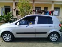 Cần bán lại xe Hyundai Getz sản xuất 2009, màu bạc, nhập khẩu xe gia đình