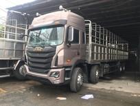 Bán xe tải Jac 4 chân K5 mới 2017, cabin đầu cao, 2 giường, bán trả góp 300tr lấy xe