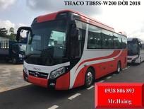 Cần bán xe Thaco 29 chỗ bầu hơi, mâm đúc, ABS, thắng từ đời 2018 TB85S-W200E4