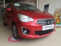 Cần bán xe Mitsubishi Attrage MT sản xuất năm 2018, màu đỏ, xe nhập