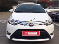 Cần bán Toyota Vios G năm sản xuất 2016, màu trắng số tự động, 555 triệu
