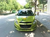 Cần bán xe Chevrolet Spark LTZ sản xuất 2015, màu xanh lục giá tốt
