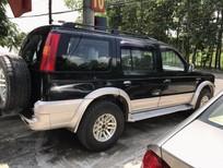 Cần bán lại xe Ford Everest 2.5L 4x2 MT 2005, màu đen, giá chỉ 300 triệu