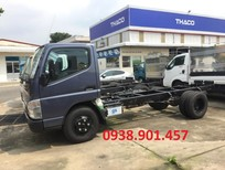 Bán xe tải Mitsubishi Canter 4.99 2018 thùng dài 4m35 tải 2T1 giao ngay