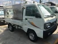 Xe tải Thaco 800, tải 900kg thùng bạt 2.2m, tiêu chuẩn Euro4 2018