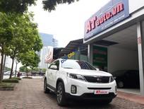 Bán xe Kia Sorento CRDI năm 2018, màu trắng số tự động, giá chỉ 969 triệu