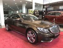 Bán xe Mercedes C250 cũ, đăng ký 2018, màu nâu, chạy 12.135 km còn rất mới giá rẻ