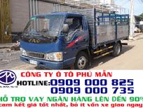Xe tải nhẹ 2.4t thùng bạt/xe tải Jac 2.4 tấn/Jac 2t4 giảm giá ưu đãi bất ngờ