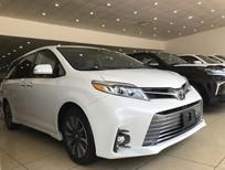 Bán Toyota Sienna Limited 3.5 nhập mỹ, Model 2019, màu trắng, xe giao xe ngay, giá cực tốt
