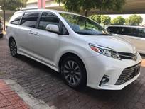 Bán xe Toyota Sienna Limited 2018, màu trắng, nhập khẩu Mỹ nguyên chiếc