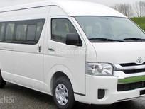 Bán Toyota Hiace 3.0 2018, màu trắng, màu bạc giao xe ngay, nhập khẩu nguyên chiếc, hỗ trợ trả góp