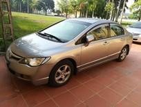 Bán ô tô Honda Civic 1.8 đời 2008, màu nâu, 380tr