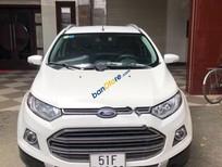 Cần bán xe Ford Ecospot Titanium màu trắng, đời 2015, phiên bản cao cấp