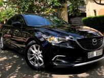 Bán Mazda 6 năm 2015, màu đen, 675tr