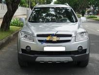 Chevrolet Captiva số tự động xám bạc, sản xuất 2008