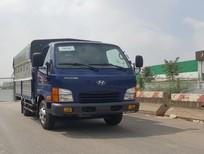 Bán Hyundai Mighty N250 thùng mui phủ bạt sản xuất năm 2018, màu xanh lam