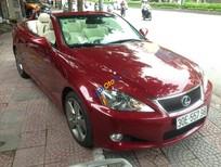 Cần bán lại xe Lexus IS 250C sản xuất 2009, màu đỏ, xe nhập
