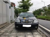 Bán Chevrolet Lacetti đời 2012, màu đen