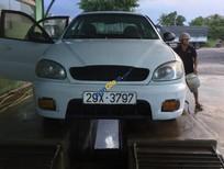 Cần bán Daewoo Lanos E năm 2001, màu trắng, 57 triệu