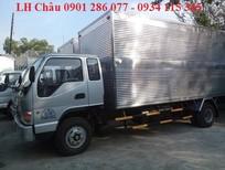 Xe tải Jac 6.4 tấn thùng kín/ EURO 2/ động cơ Faw mạnh mẽ/ thân thiện môi trường/ giá hợp lý/ trả góp 70%