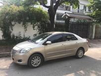Cần bán xe Toyota Vios E 2011, biển 29A màu ghi vàng, giá 312 triệu