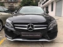 Bán xe Mercedes C300 AMG đời 2018 màu đen như mới chạy, siêu lướt 8.566 km, giá rẻ