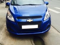 Bán xe Chevrolet Spark 2016, số sàn, màu xanh dương