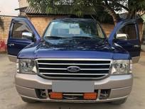 Cần bán xe Ford Everest 2005 dầu, số sàn, màu xanh dương