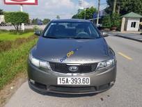 Cần bán gấp Kia Forte SLI năm 2009, màu xám, giá tốt