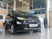 Cần bán Ford EcoSport Titanium 1.5 AT sản xuất 2018, màu đen