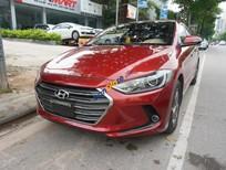 Cần bán Hyundai Elantra GLS 1.6MT 2016, màu đỏ