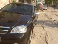 Bán gấp Chevrolet Lacetti 1.6 năm 2012, màu đen