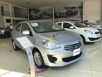Bán Mitsubishi Attrage năm sản xuất 2018, màu bạc, nhập khẩu, giá 375tr
