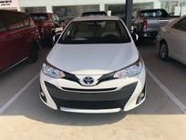 Bán xe Toyota Vios 1.5E AT năm sản xuất 2019, màu trắng