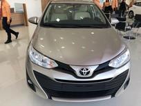 Bán Toyota Vios 1.5E AT năm sản xuất 2019, màu vàng, giá tốt