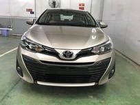 Bán Toyota Vios 1.5G AT 2017, màu nâu vàng
