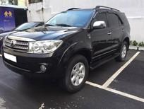 Kẹt tiền bán Toyota Fortuner 2010 số sàn diesel, Màu đen