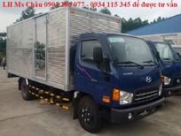 Bán xe tải Hyundai HD85 (4.5 tấn) thùng kín/ giá sốc, trả góp lãi suất thấp, thủ tục nhanh, chế độ bảo dưỡng tốt
