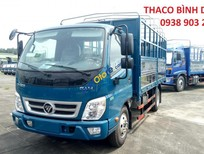 Bán xe Thaco Ollin 350 E4 đời 2018, giá 364tr, Ollin350 thùng mui bạt 2T1 - trả góp 80% tại Bình Dương, 0938903292