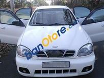 Bán Daewoo Lanos năm sản xuất 2002, màu trắng, giá 125tr