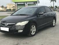 Cần bán Honda Civic 2006, số tự động, màu đen