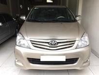 Cần bán lại xe Toyota Innova G 2011, màu vàng, giá 350tr