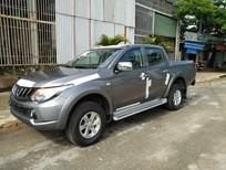 Bán Mitsubishi Triton AT 4x2 2018, màu xám, nhập khẩu có bán trả góp liên hệ 0906.884.030