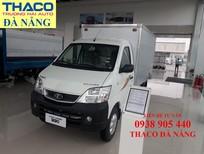 Thaco Đà Nẵng bán xe tải Thaco 990kg đời 2021 có máy lạnh Cabinn, bảo hành 2 năm hỗ trợ trả góp