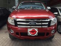 Cần bán gấp Ford Ranger XTL 2015, màu đỏ đun, 2 cầu máy dầu, số tay