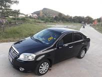 Bán xe cũ Daewoo Gentra sản xuất 2009, màu đen, giá 175tr