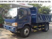 Bán xe ben Jac 7.8 tấn/ giá rẻ nhất thị trường/ trả góp 70%/ thủ tục đơn giản/giao xe nhanh