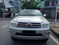 Bán Toyota Fortuner G năm sản xuất 2010, màu bạc như mới
