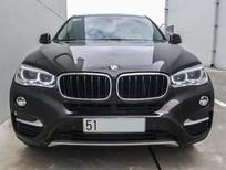 Bán BMW X6 AT sản xuất 2015, màu đen, xe nhập